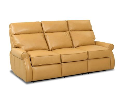 Comfort Design Leslie Reclining Leather Couch Clp727rs