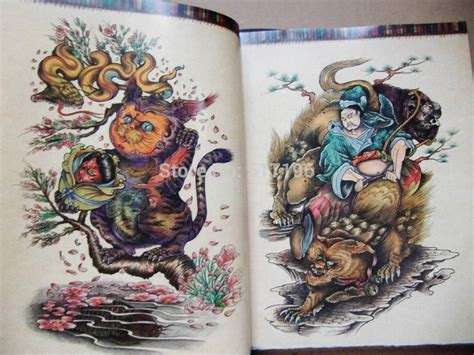 oriental tattoo art book wholesale new the oriental style tattoo flash sketch book
