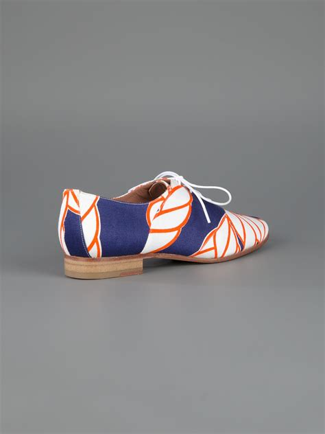 Eley Kishimoto Cut Out Court Shoe by Lyst Eley Kishimoto Rope Design Brogues In Blue
