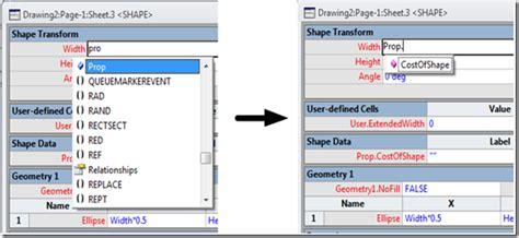visio shape sheet shapesheet formula autocomplete other improvements