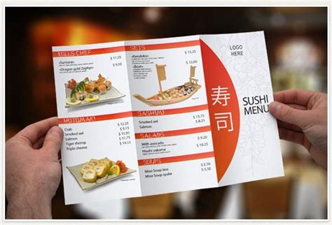 3 fold menu template 50 best restaurant menu templates both paid and free