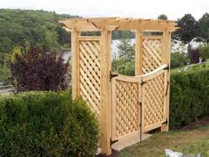 Pergola Over Gate by Arbors Amp Pergolas Ketcham Fenceketcham Fence