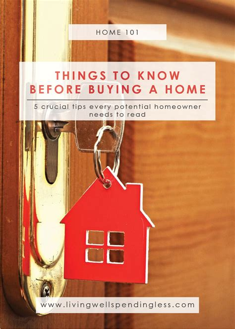 first thing to do when buying a house 5 things to know before buying a home first time home buying tips