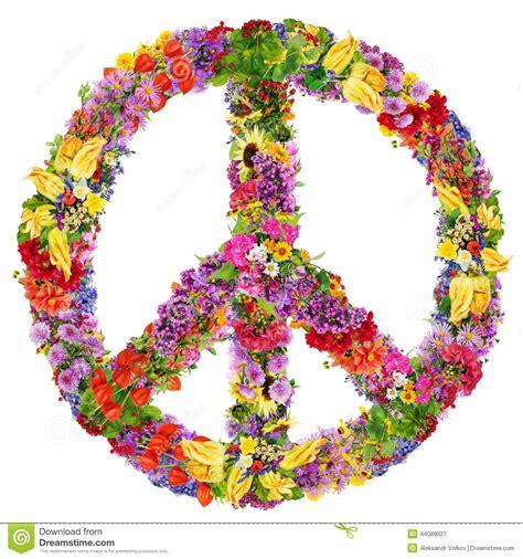 simbolo fiore simbolo fiore di pace immagine stock immagine di