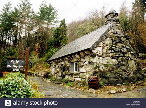 buy house wales the ugly house ty hyll capel curig gwynedd wales welsh houses stock photo