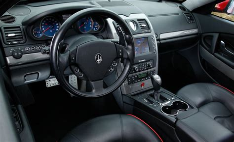 maserati gt sport interior car and driver