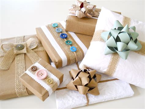 wrapping gifts recycled gift wrap ideas a homemade living