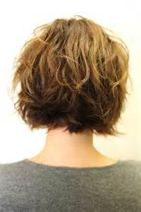 hairstyle in front in back for curly hair 30 short haircuts for wavy hair short hairstyles