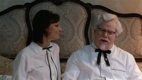 ky commercial actress tv query what s up with all the kfc colonel sanders jim