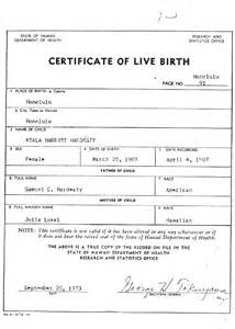 Certificate Of Live Birth Template birth certificates 101 fogbow