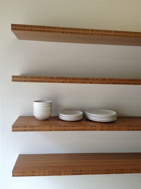 four floating shelves 12 quot x 60 quot x 1 75 quot contemporary