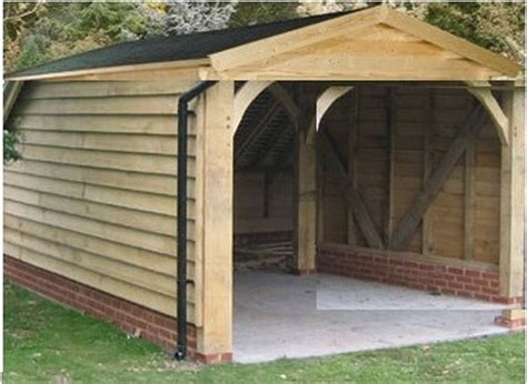 How To Build Wooden Garage build wooden garage car port garages sheds in