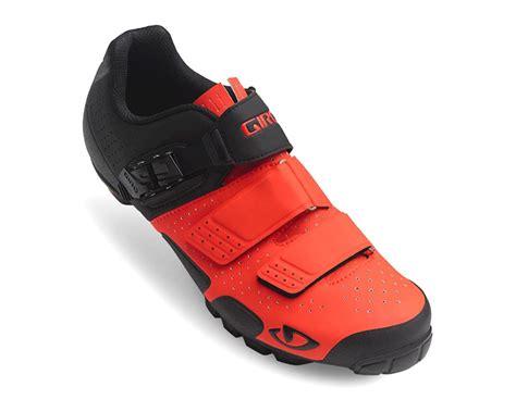 giro code mountain bike shoes giro code vr70 mtb shoes vermillion black 44 7076844