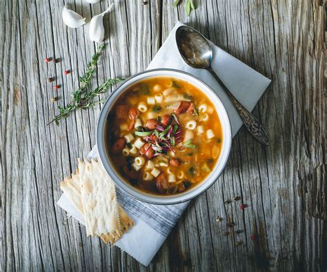 delicious and easy vegetarian minestrone soup recipe