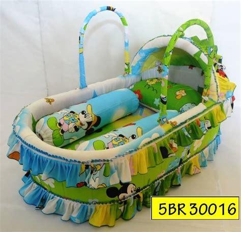 Baby Comforter Selimut Bayi Anak bakul rotan tilam kekabu asli bantal kekabu asli 100
