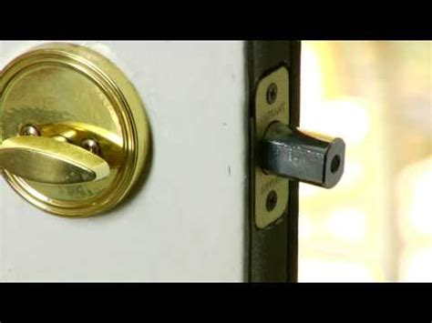 How To Fix A Door Lock by Home Improvement Repair Tips How To Fix Door Locks