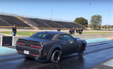 Dodge 1 4 Mile by Turbo 1 400 Hp Dodge Sets 1 4 Mile World Record