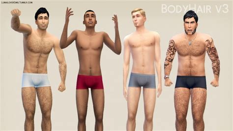 mod the sims downloads body shop hair female body hair v3 at lumialover sims 187 sims 4 updates