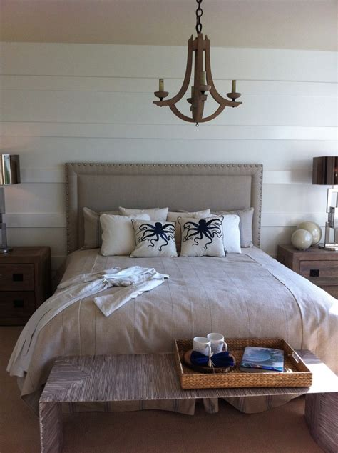 beachy headboards glamorous tri core pillow in bedroom beach style with bed
