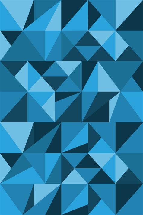 wallpaper blue geometric geometric iphone wallpaper wallpapersafari