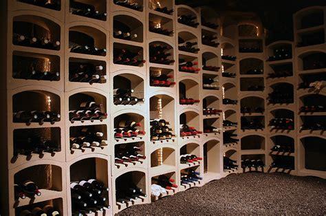 Casier à bouteilles de vin pierre blanche maxi