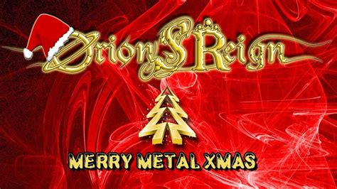 merry christmas heavy metal version cover orions reign hd youtube