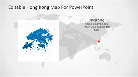 editable hong kong map for powerpoint slidemodel