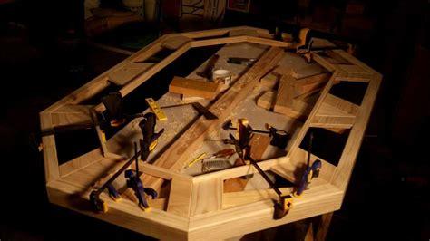 wood poker table  ken davis youtube
