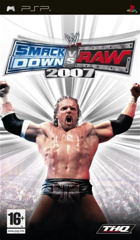 wwe smackdown  raw  psp jeux occasion pas cher
