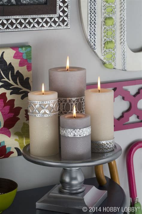 candle decorating ideas with ribbon 25 best ideas about pillar candles on candles grey candles and candles