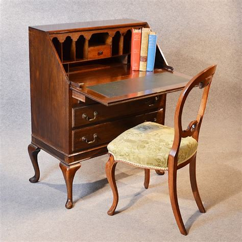Difference Between Dresser And Bureau by Antique Bureau Writing Desk Mahogany Edwardian