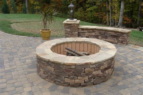 Firepit Stones Waxhaw Nc Pit From Edge Landscape Design In Nc 28112