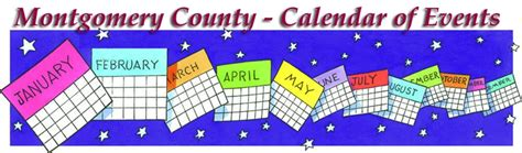 Maryland Calendar Of Events Montgomery County Calendar Of Events Olney Maryland