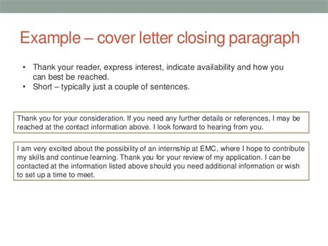 closing sentences for cover letters best cover letter opening sentence