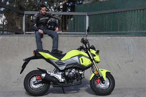 Review: 2016 Honda Grom Bike Review