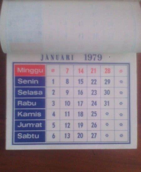 karya babah antik kalender jadul
