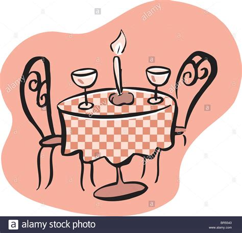 Log Table And Chairs Drawing Of A Romantic Table Setting With Two Wine Glasses
