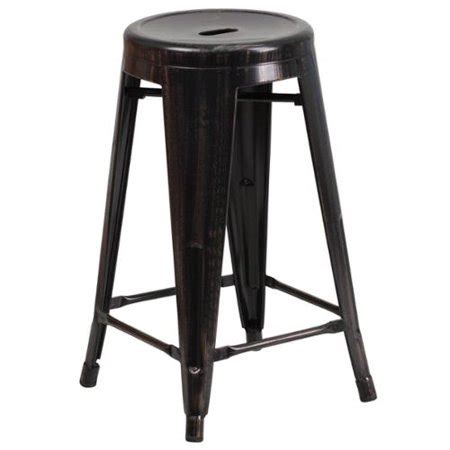 24 Inch High Stools by 24 Inch High Backless Metal Indoor Outdoor Counter Height