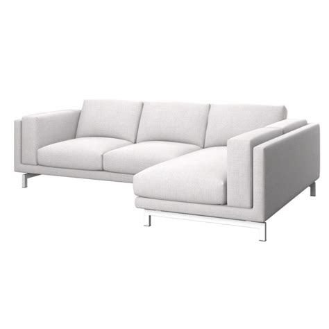 ikea nockeby sofa discontinued ikea nockeby 2 seat sofa cover with right chaise longue