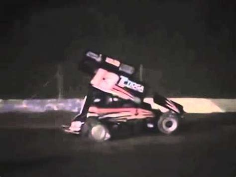 tony stewart sprint car crash tony stewart sprint car crash in motion