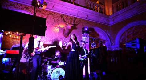 stage hire and staging hire in leicester wedding band