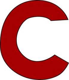 Red Letter A Images Red letter c clip art image