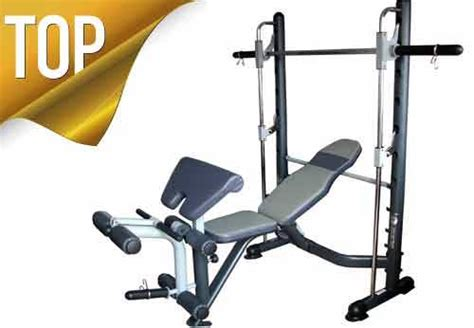multi gym bench press new olympic smith fid gym bench press home fitness leg curl bicep extension ebay
