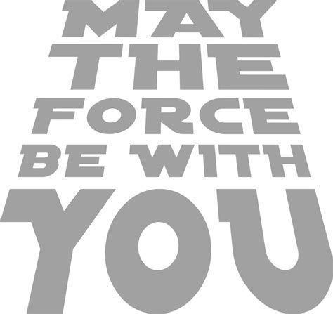 Wall Stickers Sale may the force be with you wall art com