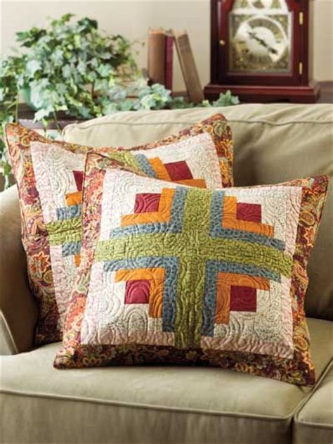 Log Cabin Pillow Pattern by Top 615 Ideas About Patchwork Bags Pillows On