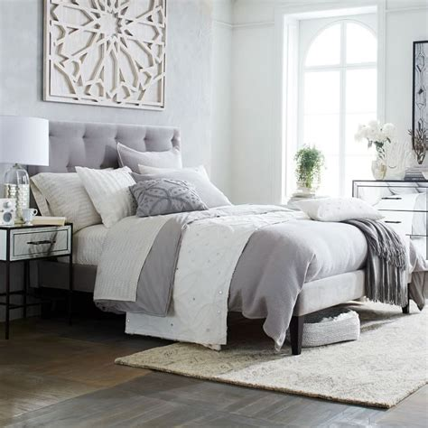 Grey Upholstered Bedroom 25 Best Ideas About Grey Upholstered Headboards On