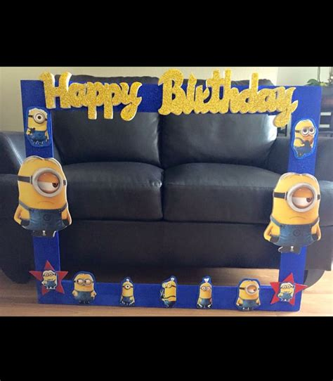 minions photo booth layout 10 best minions party images on pinterest minion photo