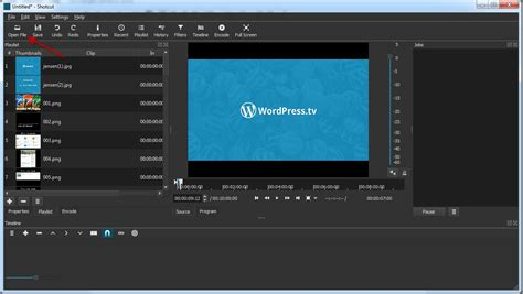 editing layout editing video with shotcut open source make wordpress tv