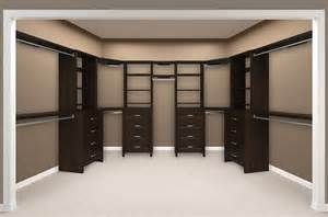 Closetmaid Shelf Organizer Impressions Walk In Chocolate Bedroom 6 Empty Create A