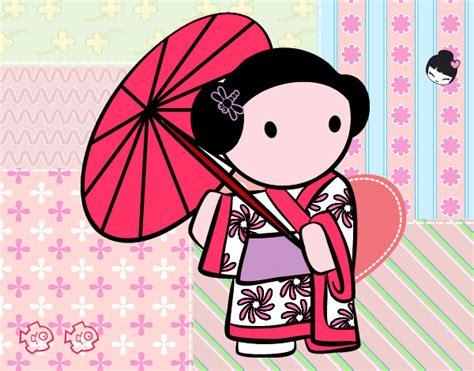 imagenes de geishas japonesas animadas japonesa dibujo imagui